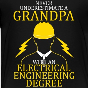 Super Electrical Engineering Grandpa T Shirt - Toddler Premium T-Shirt