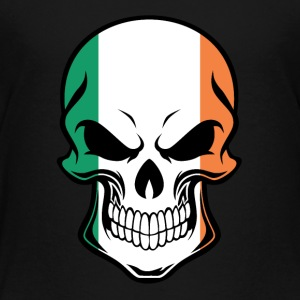 Irish Flag Skull - Toddler Premium T-Shirt
