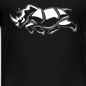 Rhino Graphic Tee Shirt - Toddler Premium T-Shirt