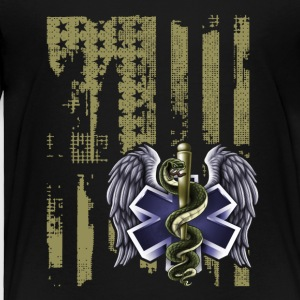 Flag Emt Tee Shirt - Toddler Premium T-Shirt