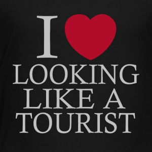 i love looking tourist - Toddler Premium T-Shirt