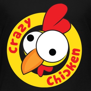 CrazyChicken Hoodie - Toddler Premium T-Shirt