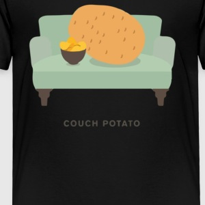 Couch Potato Pun - Toddler Premium T-Shirt