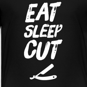Eat Sleep Cut - Toddler Premium T-Shirt