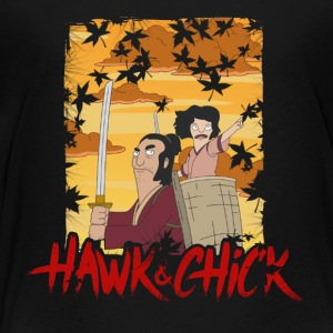 hawk and chick - Toddler Premium T-Shirt