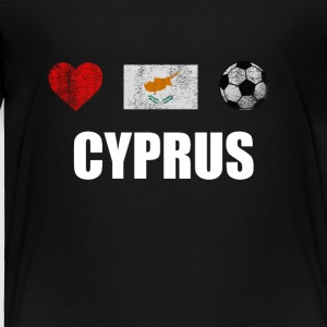 Cyprus Football Shirt - Cyprus Soccer Jersey - Toddler Premium T-Shirt