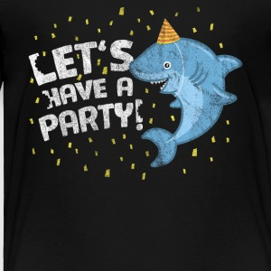 Birthday Buddy Friend Boy Girl Shark Have A Party - T-shirt premium pour enfants