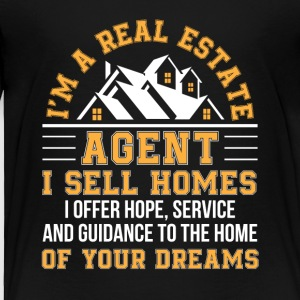 Real Estate Agent Sell Home Hope Service - Toddler Premium T-Shirt