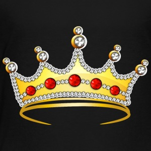 goden royal crown jewel cool art illustration - Toddler Premium T-Shirt