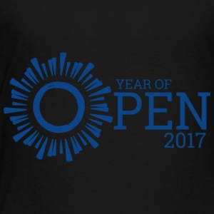 Year of Open (Blue - Toddler Premium T-Shirt
