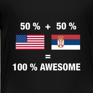 Serbian - Toddler Premium T-Shirt