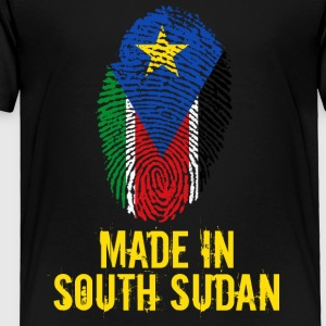 Made In South Sudan - Toddler Premium T-Shirt