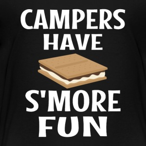 Campers Have Smore Fun - Toddler Premium T-Shirt