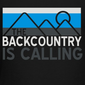 Backcountry is Calling - Toddler Premium T-Shirt