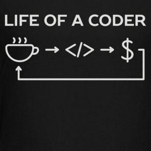 Web and software developer coder humor - Toddler Premium T-Shirt