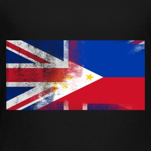 British Filipino Half Philippines Half UK Flag - Toddler Premium T-Shirt