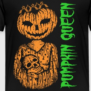 Halloween Pumpkin Queen - Toddler Premium T-Shirt