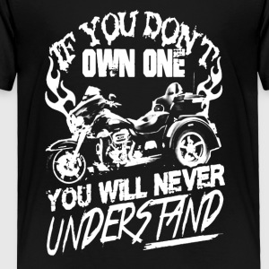 You will never understand T shirts - Toddler Premium T-Shirt