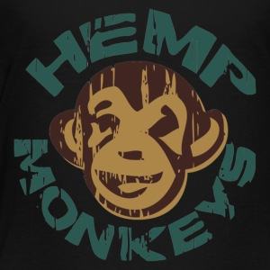 Hemp monkeys - Toddler Premium T-Shirt