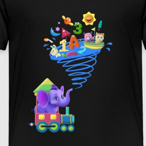 Appu in his Train - Toddler Premium T-Shirt