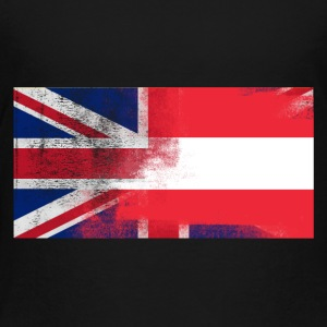 British Austrian Half Austria Half UK Flag - Toddler Premium T-Shirt