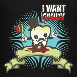 i want candy - Toddler Premium T-Shirt