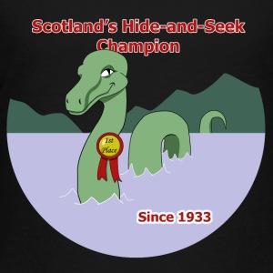 Loch Ness Monster: Hide and Seek Champion - Toddler Premium T-Shirt
