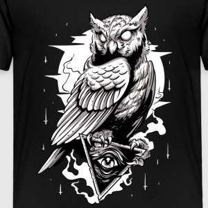 Illumintati Tattoo Night Owl - Toddler Premium T-Shirt