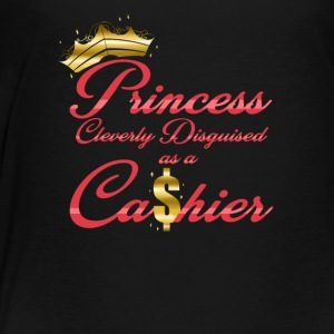 Princess Cleverly Disguised as a Cashier Retail - Toddler Premium T-Shirt