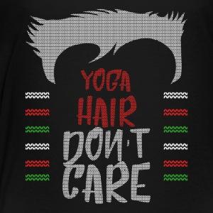 Ugly sweater christmas gift for yoga - Toddler Premium T-Shirt