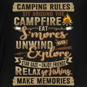 Camping Campfire Present Gift - Toddler Premium T-Shirt