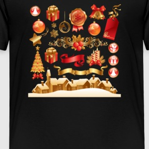 Christmas Elements 6 - Toddler Premium T-Shirt