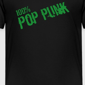100 Pop Punk Mens V Neck - Toddler Premium T-Shirt