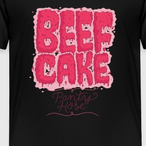 Party Hose Beef Cake - Toddler Premium T-Shirt