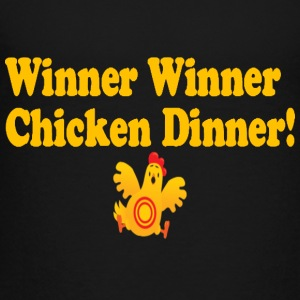 Winner Winner Chicken Dinner - Toddler Premium T-Shirt