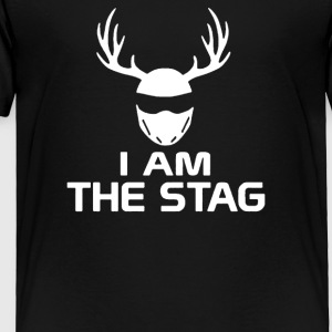 I Am The Stag Stag Night Hen Wedding - Toddler Premium T-Shirt