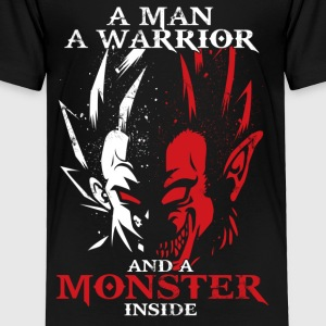 dragon ball majin vegeta monster in side - Toddler Premium T-Shirt