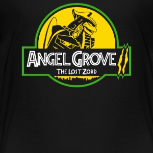 Angel Grove The Lost Zord Funny Parodies - Toddler Premium T-Shirt