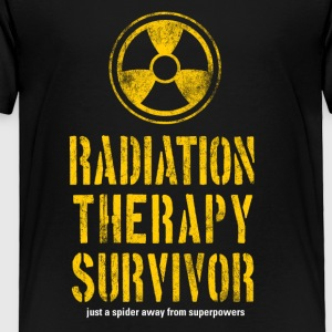 Radiation Therapy Survivor - Toddler Premium T-Shirt