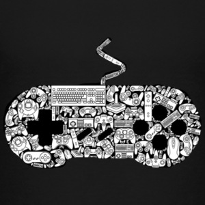 gamer controllers artwork - Toddler Premium T-Shirt