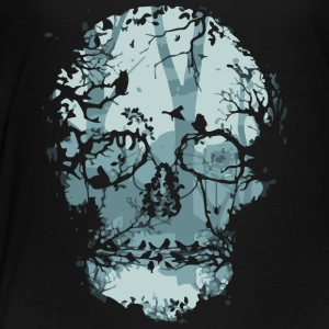 Dark Forest Skull - Toddler Premium T-Shirt