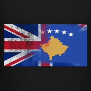 British Kosovan Half Kosovo Half UK Flag - Toddler Premium T-Shirt
