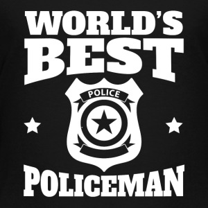 World's Best Policeman Graphic - Toddler Premium T-Shirt