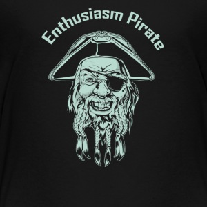 Enthusiasm Pirate - Toddler Premium T-Shirt