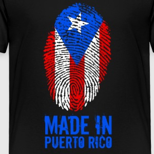 Made In Puerto Rico - Toddler Premium T-Shirt