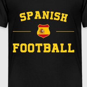 Spanish Football Shirt - Spanish Soccer Jersey - Toddler Premium T-Shirt