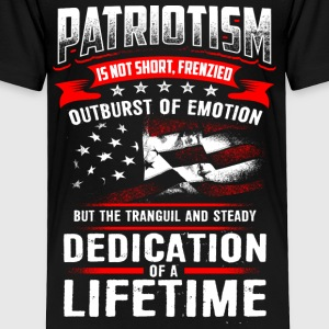 PATRIOTISM - Toddler Premium T-Shirt