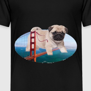 PUG ATTACK - Toddler Premium T-Shirt