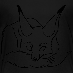 sleeping fox - Toddler Premium T-Shirt