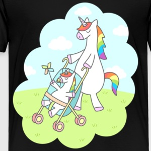 Unicorn Mama Gift Shirt Pre - Toddler Premium T-Shirt